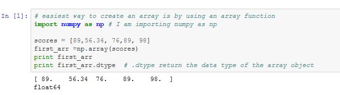 How to import Numpy using Ipythona