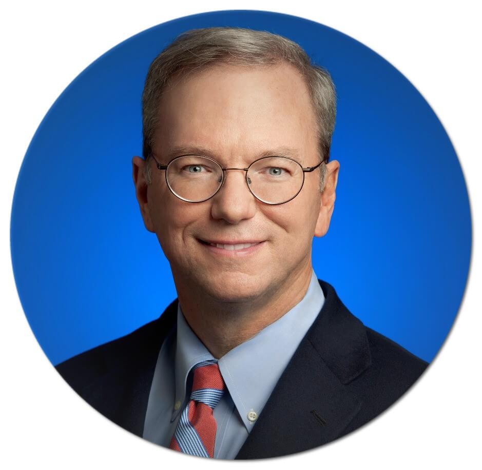 – Eric Schmidt, Executive Chairman of Alphabet Inc.
