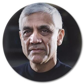 - Vinod Khosla, Indian-born American engineer and businessman